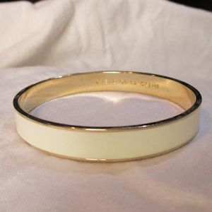 Kate Spade creme de la creme bangle